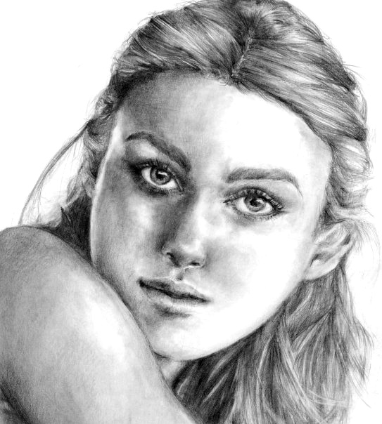 Keira Knightley by pottersportraits